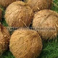 Fresh Semi Husked Mature Coconut