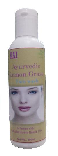Hawaiian Ayurvedic Lemon Grass Face Wash