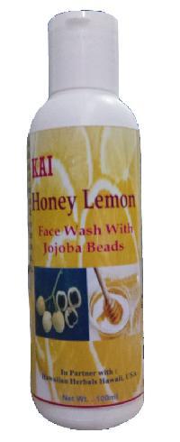 Hawaiian Honey Lemon Face Wash With Jojoba Beads