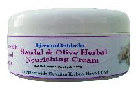 Hawaiian Sandal & Olive Herbal Nourishing Cream