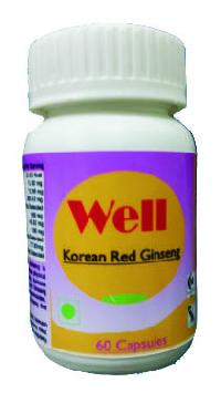 HAWAIIAN WELL KOREAN RED GINSENG CAPSULES