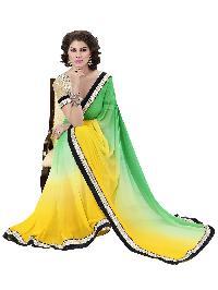 Jute Beige Indian Women Saree