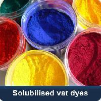 Solubilised Vat Dyes