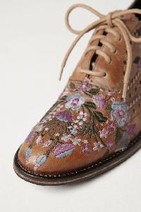 Hand Embroidered Shoe