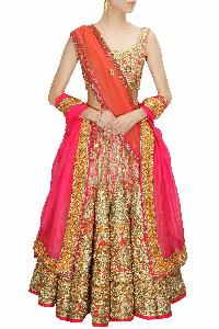 a8d8e912f8 Embroidered Bridal Lehenga - Manufacturers, Suppliers & Exporters in ...