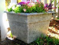 Stone Garden Flower Pot
