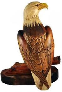 Wood Carvings Birds