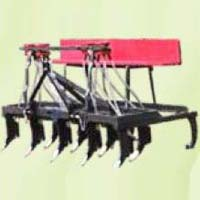 Cultivator With Seed Cum Fertiliser Drill