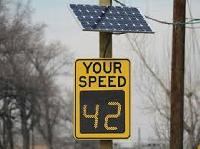 Solar Road Safety Signs
