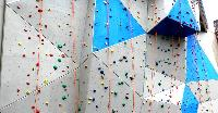 ROCK CLIMBING WALL SETUP