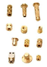 Plastic Moulded Brass Components