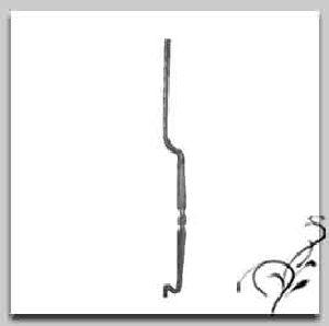 Wrought Iron Bow Bars