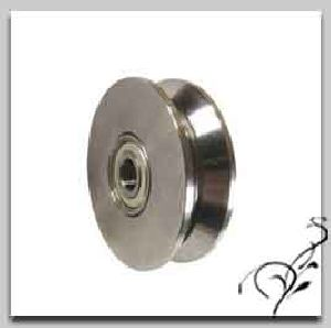 Wrought Iron Track Wheels