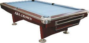 Crown Pool Table (9'X4.5')