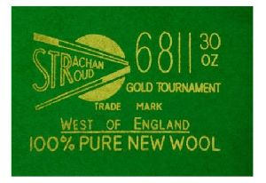 Snooker Table  Strachan 6811 30 Oz Tournamentcloth