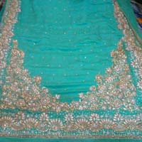 Hand Embroidered Sarees Manufacturers Suppliers Exporters In India