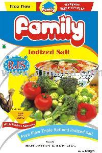 Free Flow Iodized Salt In 400gm Pouches