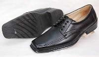 Leather Fancy Derby Shoes 02