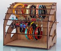 Wooden Jewelry Stand