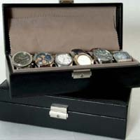 Leather Watch Boxes