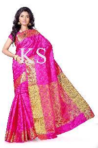 Kanchipuram Art Silk Brasso Tissue Pallu Saree