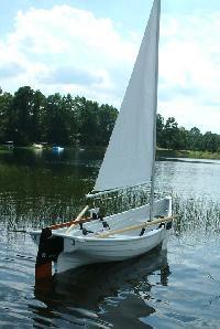 rowing sailing boat