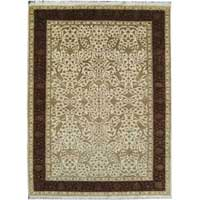 Hand Knotted Woollen Carpet (abc-503)