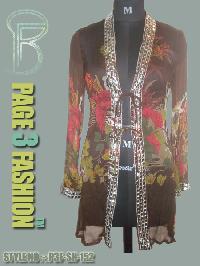 High Fashion Beachwear Chiffon Jacket
