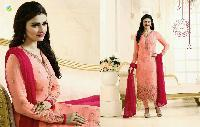 KARACHI STYLE STRAIGHT CUT GEORGETTE SUIT
