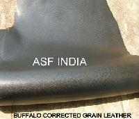 Buffalo Corrected Grain Leather