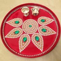Pooja thali in maharashtra manufacturers and suppliers india aarti thali junglespirit Choice Image