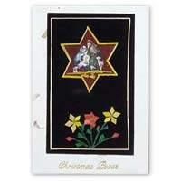 Handmade Greeting Cards Star Religious