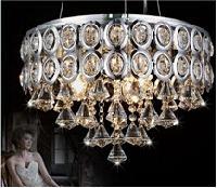 Led Chandelier Crystal Light
