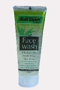 Soft Touch Face Wash (chamomile, Aloevera, Tea..