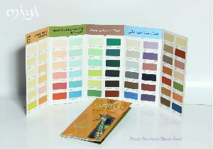 Plastic Emulsion Shade Card Designing