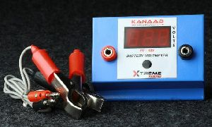 Battery Voltmeter And Vehicle Charging System Monitor
