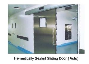 Automatic Hermetically Sealed Sliding Door