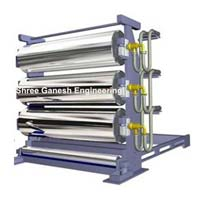 Three Roll Calender Making Machine