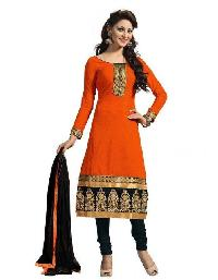 Orange Designer Salwar Suit R-76