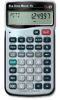 Real Estate Master IIIx Calculator