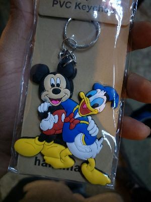 Promotional Silicon Keychain