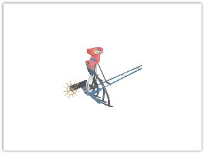 Bullock Drawn Automatic Seed Drill