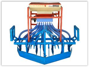 Mini Tractor Operated Automatic Seed Drill
