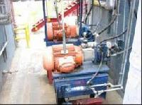 hydraulic basket centrifuges