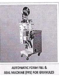 Automatic Form Fill & Seal Machine (FFS) for Granules