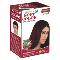 Burgundy Henna Hair Dyes