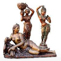 Brass European Statues
