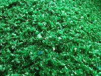 Unwashed Green Pet Flakes