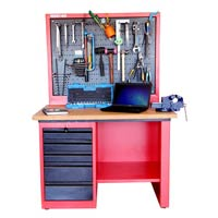 Perforated Panel Work Station
