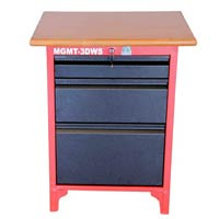 Three Drawer Work Station